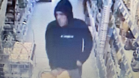Police have released CCTV images from the shops