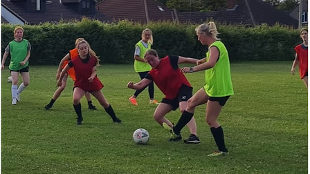 Woodspring Women have invited players totraining, which are held onWednesday evenings.