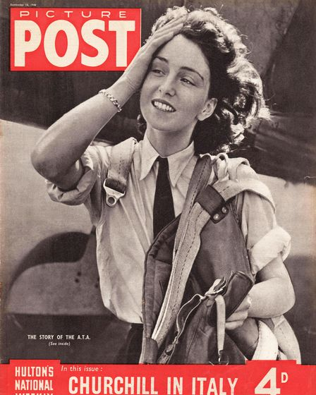 1944 Picture Post Maureen Dunlop de Popp of the Air Transport Auxiliary