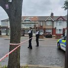 Bomb disposal incident South Woodford