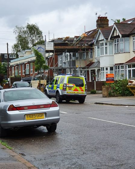 Woodford Green bomb scare