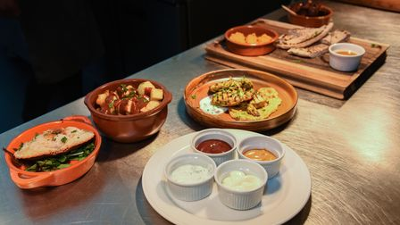 Some of the food being served at Sundown at The Grove Hotel in Cromer. Picture: Danielle Booden