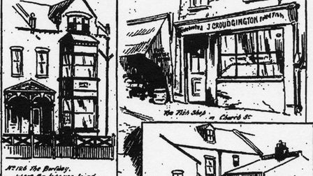 Murder house in Portway... and fish shop in Church Lane that Millie Jeffs never reached