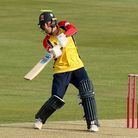 Will Buttleman of Essex in batting action during Essex Eagles vs Sussex Sharks, Vitality Blast T20 C