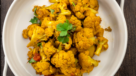 Gobi Masaledar, made with cauliflower and multiple Indian spices, will be served by Namaste Village