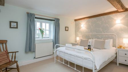 Inside Fair Meadow House in Itteringham, which is being sold by North Norfolk District Council.