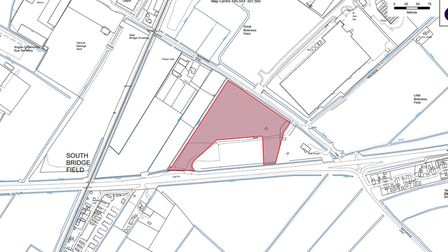 Maps showing land owned by Fenland Council and where site surveys by incinerator developers can now be undertaken