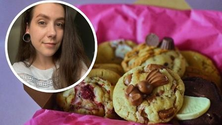 Kat Doonan, from Norwich, launched Kookie Ko in February this year and she hasalready had hundreds of orders.