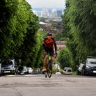 Keith Lawrence cycled the height of Everest in the Holly Lodge Estate to fundraise for CityHarvest
