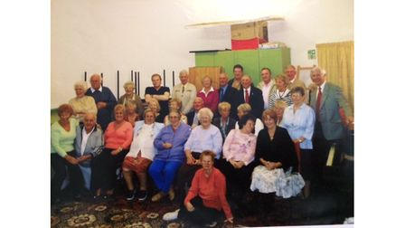 Reunion party for residents