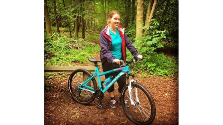 Hospice worker on charity cycle ride