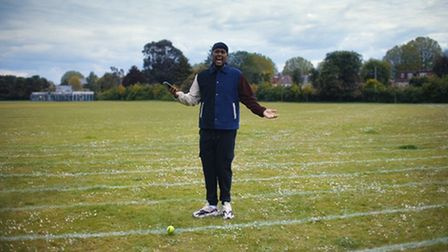 Chunkz appears in LTA's tennis video to encourage people to take up the sport