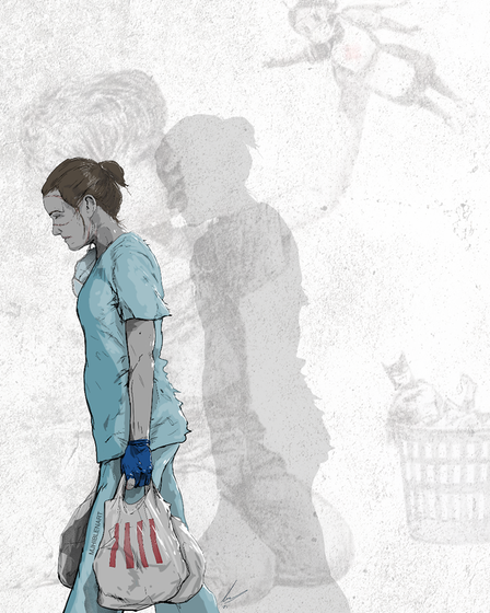 Norwich artist M.J. Hiblen has released a new comic art publication in tribute to NHS workers