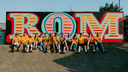 """The """"Rom Boys"""" are a group of middle-aged skaters, BMXers and street artists"""