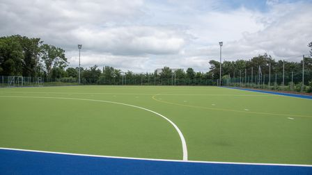 Ipswich Hockey Club has a new pitch. Picture: Sarah Lucy Brown