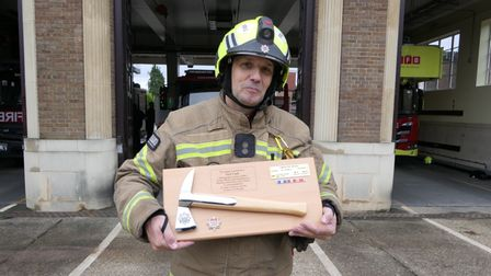 Neil Cash has retired from the London Fire Brigade after 30 years service