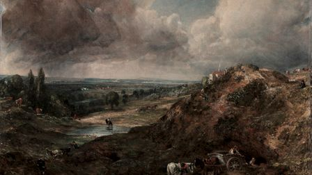John Constable's famous painting of Branch Hill Pond on Hampstead Heath