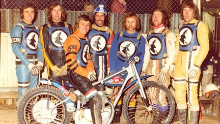 Ipswich Witches 1976 Division One and KO Cup winners