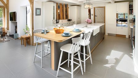 Traditional farmhouse kitchen designed by Bower Willis Designs in Shipston on Stour