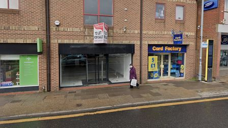 A vacant premises on Gorleston High Street which could reopen as an adult gaming centre.