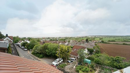 roofline with views over Kewstoke and Sand Bay from the house in Kewstoke Road