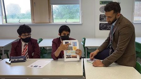 Affirmation sessions thriving at Ilford County High School