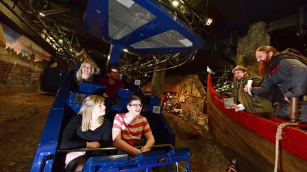 The ride experience at the JORVIK Viking Centre is an incredibly detailed reconstruction of 10th century Jorvik