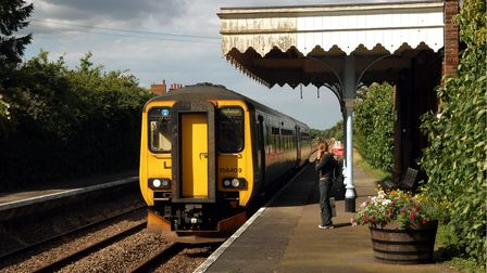 Salhouse, the nearest station to Rackheath, possible site of an eco-townPhoto: Bill SmithCopy: E