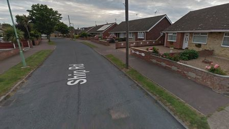 The vehicle theft happened on Ship Road, Pakefield in Lowestoft.