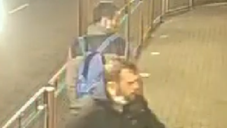 CCTV images have been released after a door was shattered at a Felixstowe McDonalds