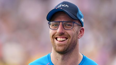 Jack Leach took three wickets for Somerset in their winat Surrey