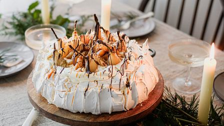 A pavlova by Double Yum of St Albans.
