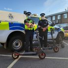 Three e-scooters were seized in Great Yarmouth on Wednesday evening by officers.