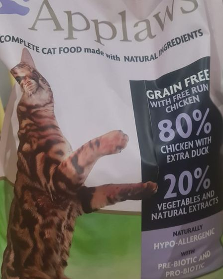 Gemma Smith used to buy Applaws cat food before it was liked tofeline pancytopenia deaths