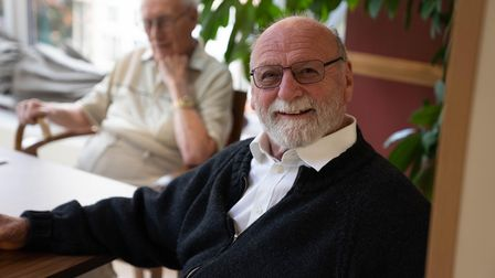 Hilmar Warenius has attributed his move to Foxholes Care Home in Hitchinas the motivation to write his autobiography