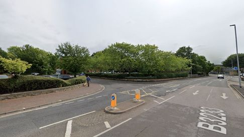 The Tuly Street junction with North Walk in Barnstaple