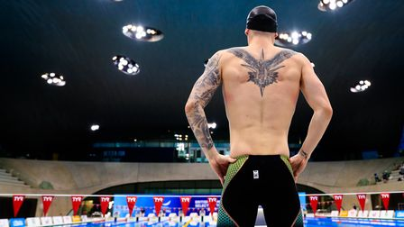 Jacob Peters at the 2021 British Swimming Selection Trials