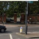 The entrance of Finsbury Park near to Manor House Gate, close to where the victim reported having been attacked