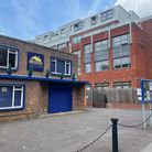 The outside of the Brookside Theatre in Romford.