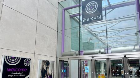 Enjoy a spot of shopping at the Mercury shopping centre in Romford.