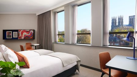 A room with a view at Malmaison, York
