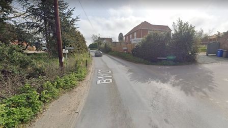 """The road will be temporarily closed as work is being carried out on the B1127 """"from Hulver Road until Sotterley Road""""."""