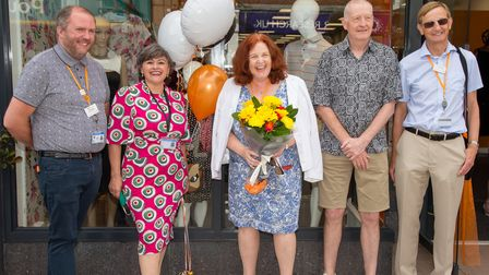 Saint Francis Hospice's new department-style shop opens in Brentwood