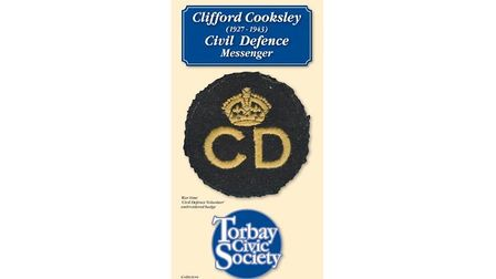 The Torbay Civic Society pamphlet about Clifford Cooksley