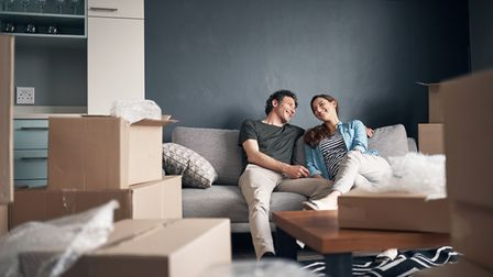 Moving home can be a stressful experience for couples.