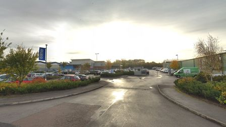 The East Anglian Motor Auctions site in Wymondham