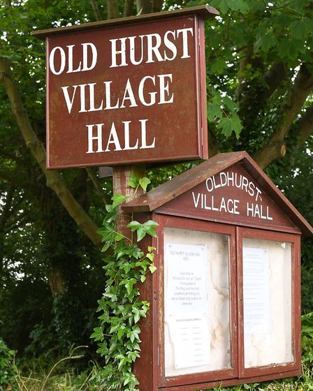 Villagers want to raise money for a new village hall.