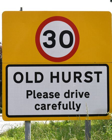 The village of Old Hurst has a interesting history.