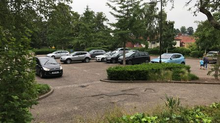 The car park at Waterloo Park in Norwich