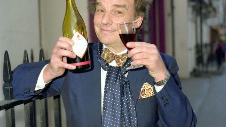 British Cook, Restaurateur, Broadcaster and Journalist Keith Floyd Launching his new BBC TV series